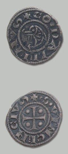 3 Monnaies: Montélimar: double denier de...