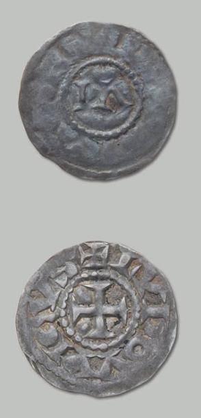 Louis l'Aveugle (887-928). Denier en argent....