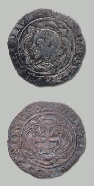 Thibaut (952-1000). 2 monnaies: Gros d'argent...