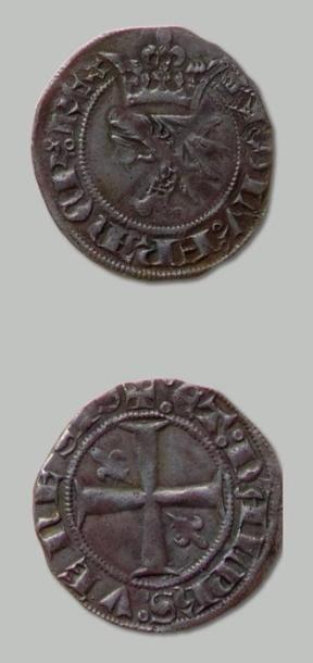 Lot de 4 Monnaies: 3 Gros delphinaux et un...