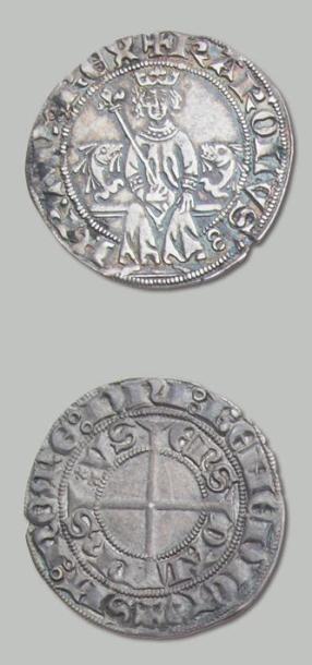 CHARLES VI, Roi-dauphin (1380-1409) Cadière...