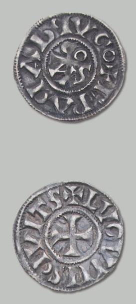 COMTÉ de LYON 5 Monnaies: deniers. Caron...