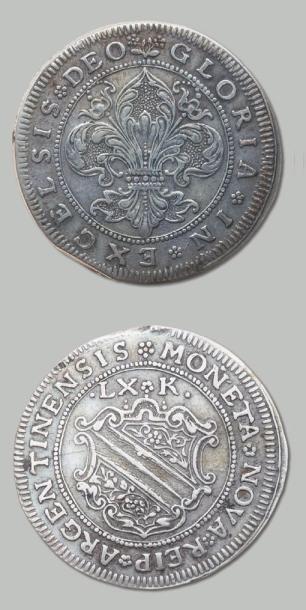 Florin en argent «Dreibatzner»: 3 exemplaires,...