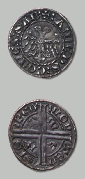 AMÉDÉE V (1285-1323) Gros de Piémont. CNI...