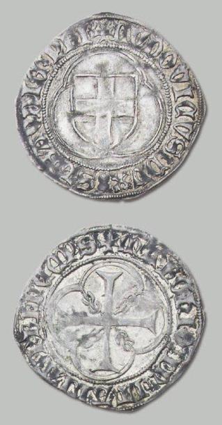 LOUIS 1er (1434-1465) Parpaillole ou double...