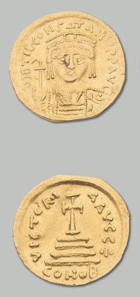 TIBÈRE II CONSTANTIN (578-582) Solidus. 4,43...