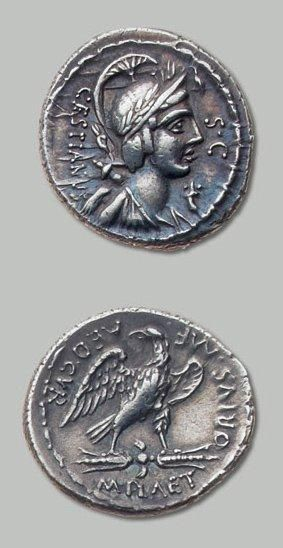 PLAETORIA (67 av. J.-C.) Buste de la déesse...