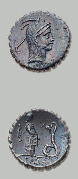 ROSCIA (64 av. J.-C.) Tête de Junon Lanuvienne...