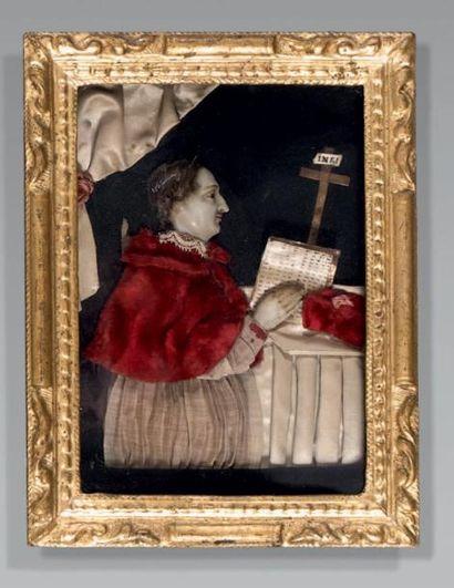 Tableau représentant le Cardinal Saint Charles...
