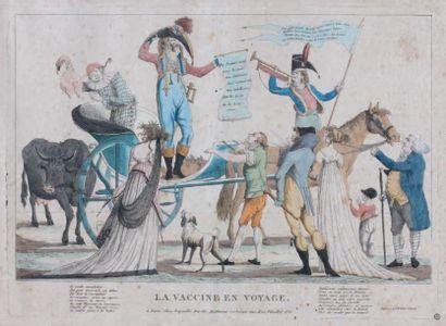 Caricatures sur la vaccine Rare ensemble...