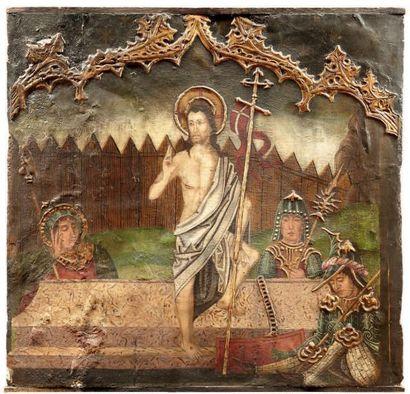 ÉCOLE ARAGONAISE de la fin du XVe ou du début du XVIe siècle