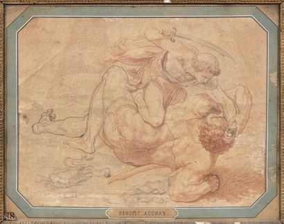 Attribué à Benoit AUDRAN (1661-1721)