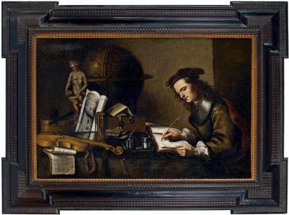 ÉCOLE HOLLANDAISE ou ALLEMANDE du XVIIe siècle