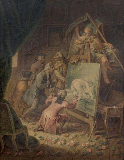 François EISEN (Bruxelles vers 1695 - Bruxelles 1778)