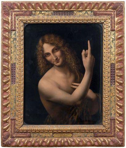 ÉCOLE ITALIENNE du XVIe siècle, suiveur de Léonard de Vinci (1452-1519)