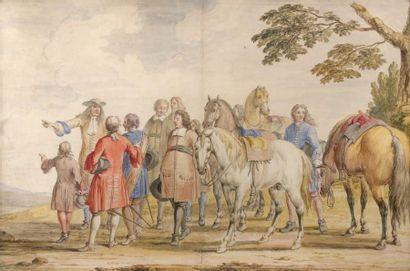 Adam Frans Van der MEULEN (Bruxelles 1632 - Paris 1690)