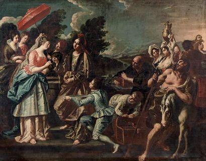 Entourage de Francesco FONTEBASSO (Venise 1707 - Venise 1769)
