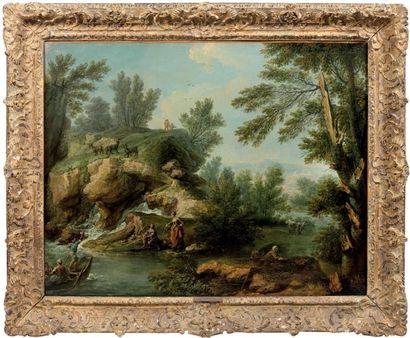 Attribué à Joseph François PARROCEL (1704-1781)