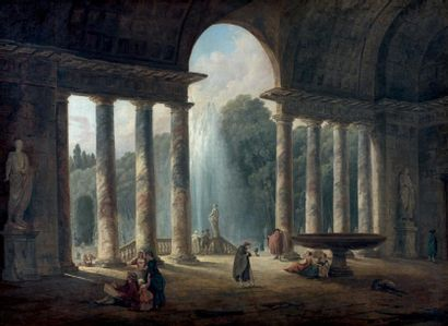 Hubert ROBERT (Paris 1733 - Paris 1808)