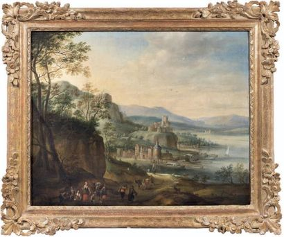 Atelier de Jan GRIFFIER (1652/56-1718)