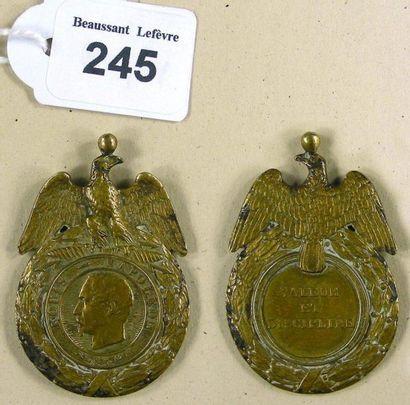 Médaille militaire - Présidence, insigne...