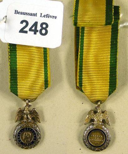 Médaille militaire - Second Empire, insigne...