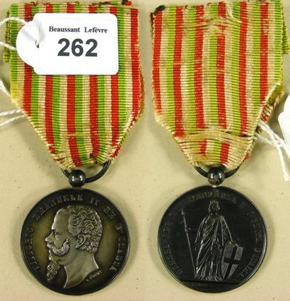 Second Empire - Royaume d'Italie, médaille...