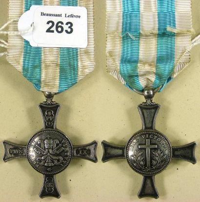 Second Empire - États Pontificaux, médaille...