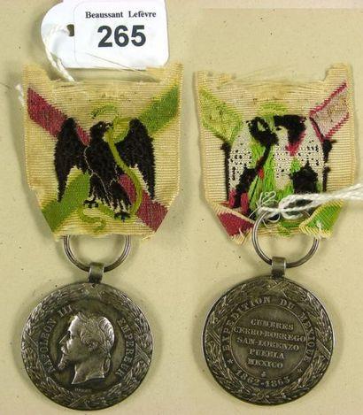 Second Empire - Médaille de la campagne du...