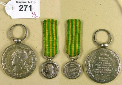 Médaille de la campagne du Tonkin, 1883-...