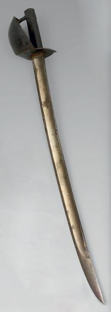 Sabre d'abordage modèle 1833. Poignée à pans...