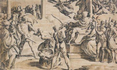 ÉCOLE ITALIENNE du XVIIe siècle, d'après Girolamo Francesco Maria MAZZOLA dit II PAR MIGIANINO