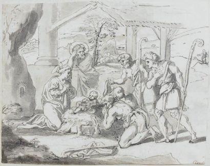 ÉCOLE FRANÇAISE du XVIIe siècle, entourage de Michel CORNEILLE