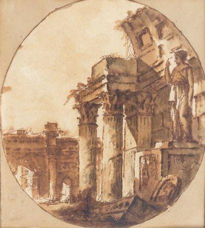Attribué à Juste Nathan BOUCHER (1736-1782)