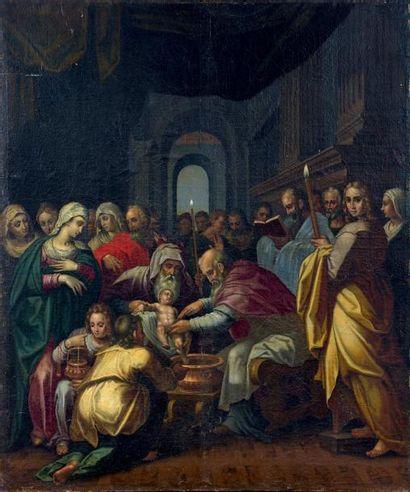 Attribué à Giam Battista RAMENGHI dit il BAGNACAVALLO (Bologne, 1521-1601)