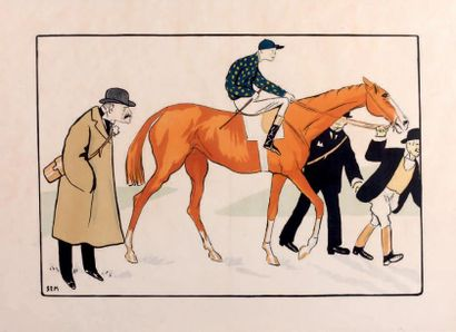 Georges GOURSAT dit SEM (1863-1934)