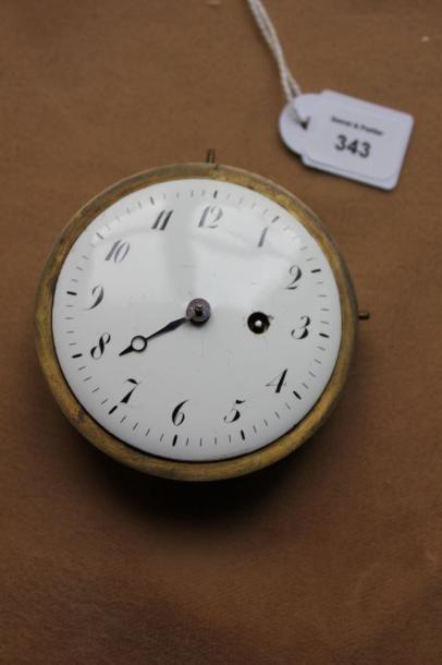 Cadran de pendule à petit mouvement de montre...