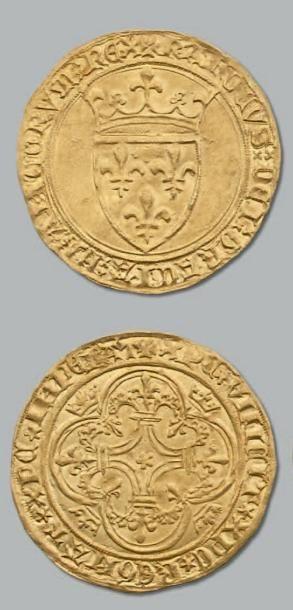 Écu d'or à la couronne. D. 369. TTB à superbe....