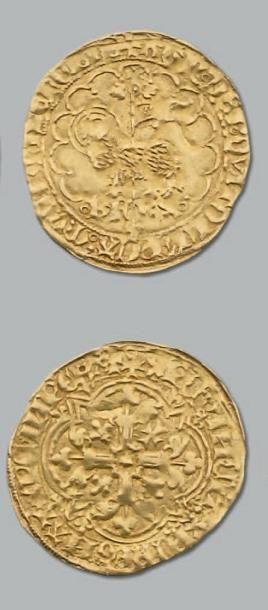 Agnel d'or. Montpellier (?). D. 372. TB à...