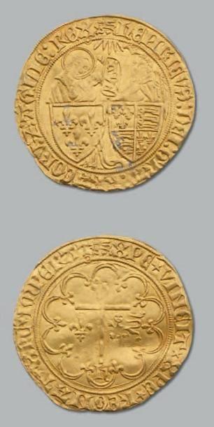 Salut d'or. Rouen. D. 443A. TTB. HENRI VI...