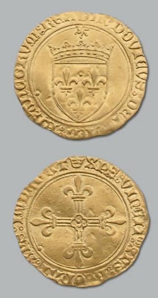 Écu d'or au soleil. Saint-Lô. D. 647. TTB...