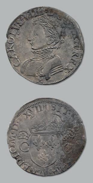Teston. 1er type. 1567. Toulouse. D. 1063....