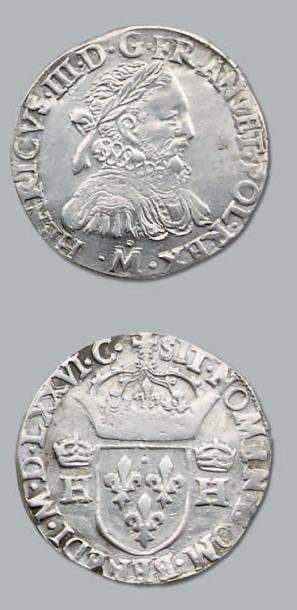 Teston. 1576. Toulouse. D. 1126. TTB à s...