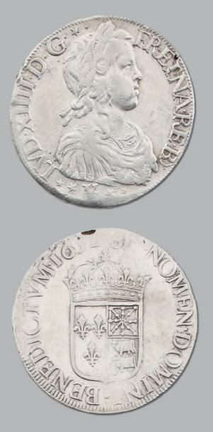 Écu de Béarn à la mèche longue. 1652. Pau....