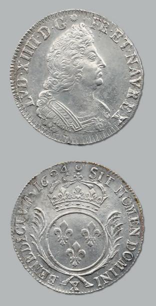 Écu aux palmes. 1694. Amiens. Réf. D. 1520A....