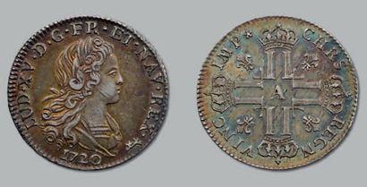 Petit Louis d'argent. 1720. Paris. D. 1664....