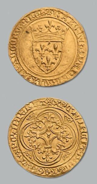 Écu d'or à la couronne. D. 369. Pr. superbe....
