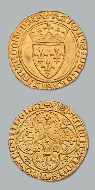 Écu d'or à la couronne. Romans. D. 369. TTB...