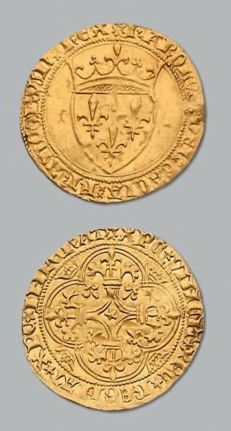 Écu d'or à la couronne. Montpellier. D. 369....