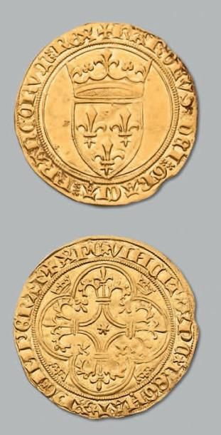 Écu d'or à la couronne. Tournai. D. 369....